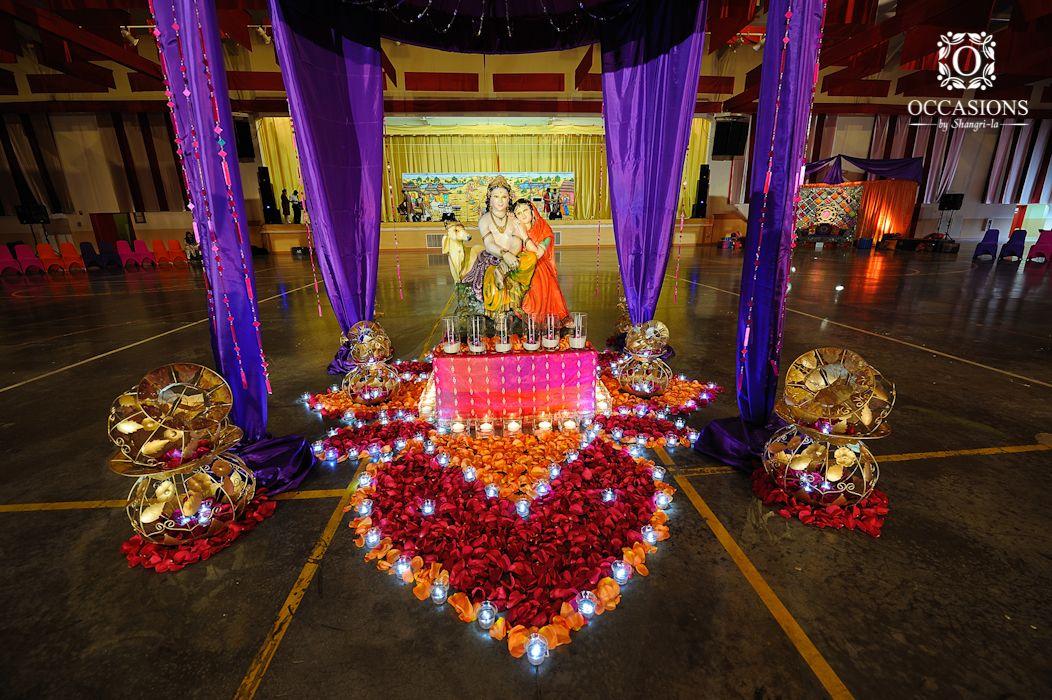 Mehndi Table Centerpieces : Sangeet garba mehndi decor occasions by shangri la
