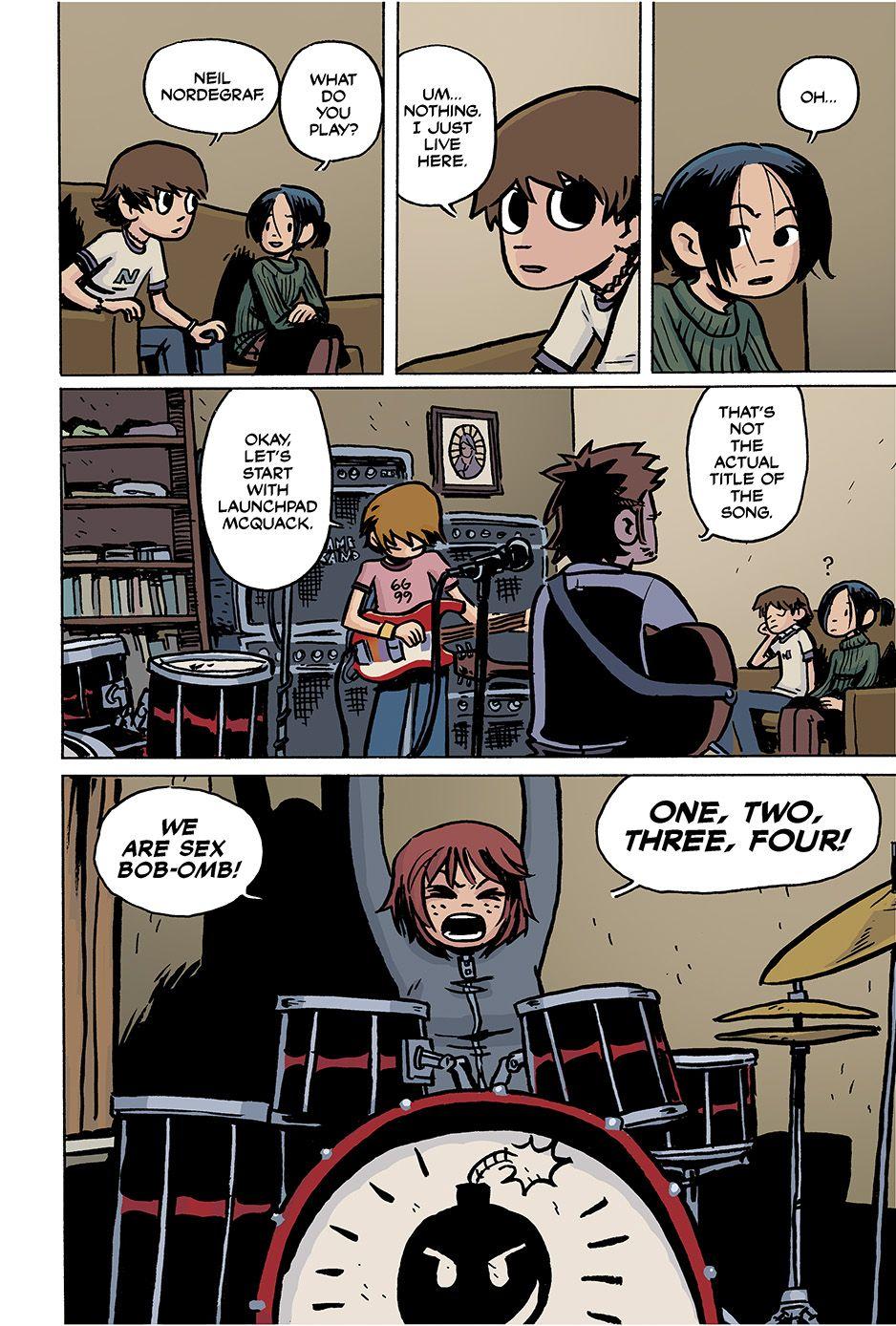 scott pilgrim vs the world comic pdf