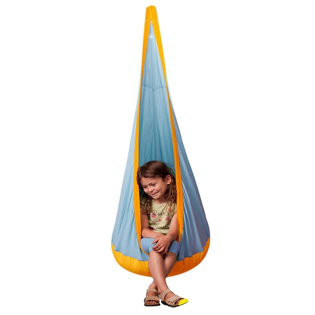 jiyaru hammock pod kids swing children u0027s hammock chair nook hanging seat hammock nest for indoor and jiyaru hammock pod kids swing children u0027s hammock chair nook      rh   pinterest