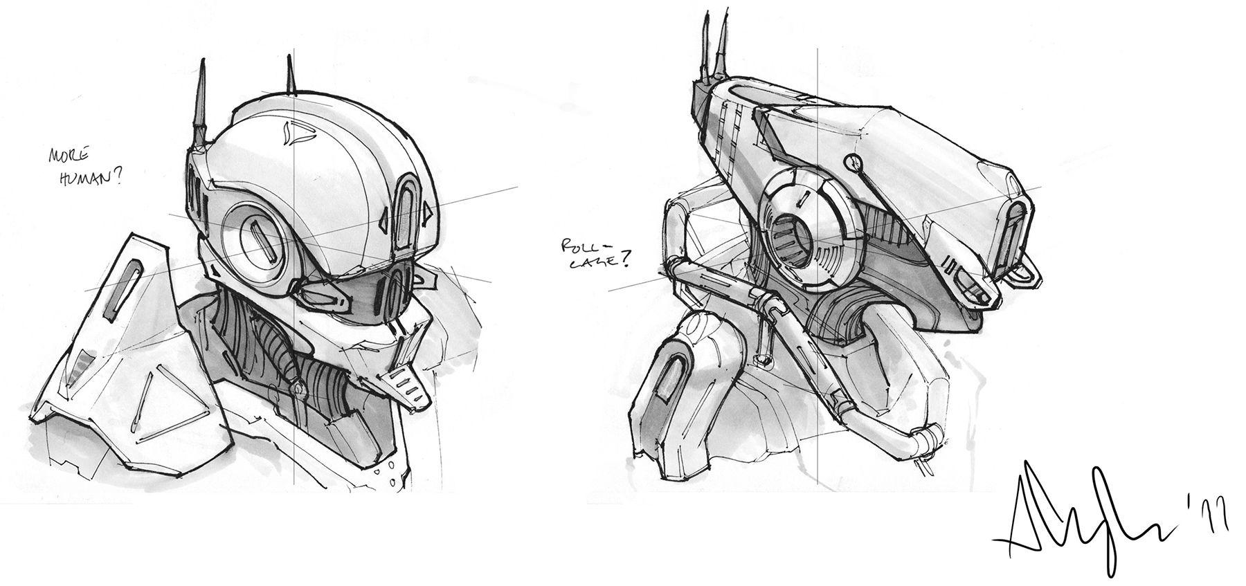 Concept Robots Concept Art From Plug