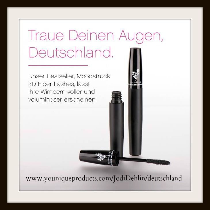 Younique comes to Germany August 1st!