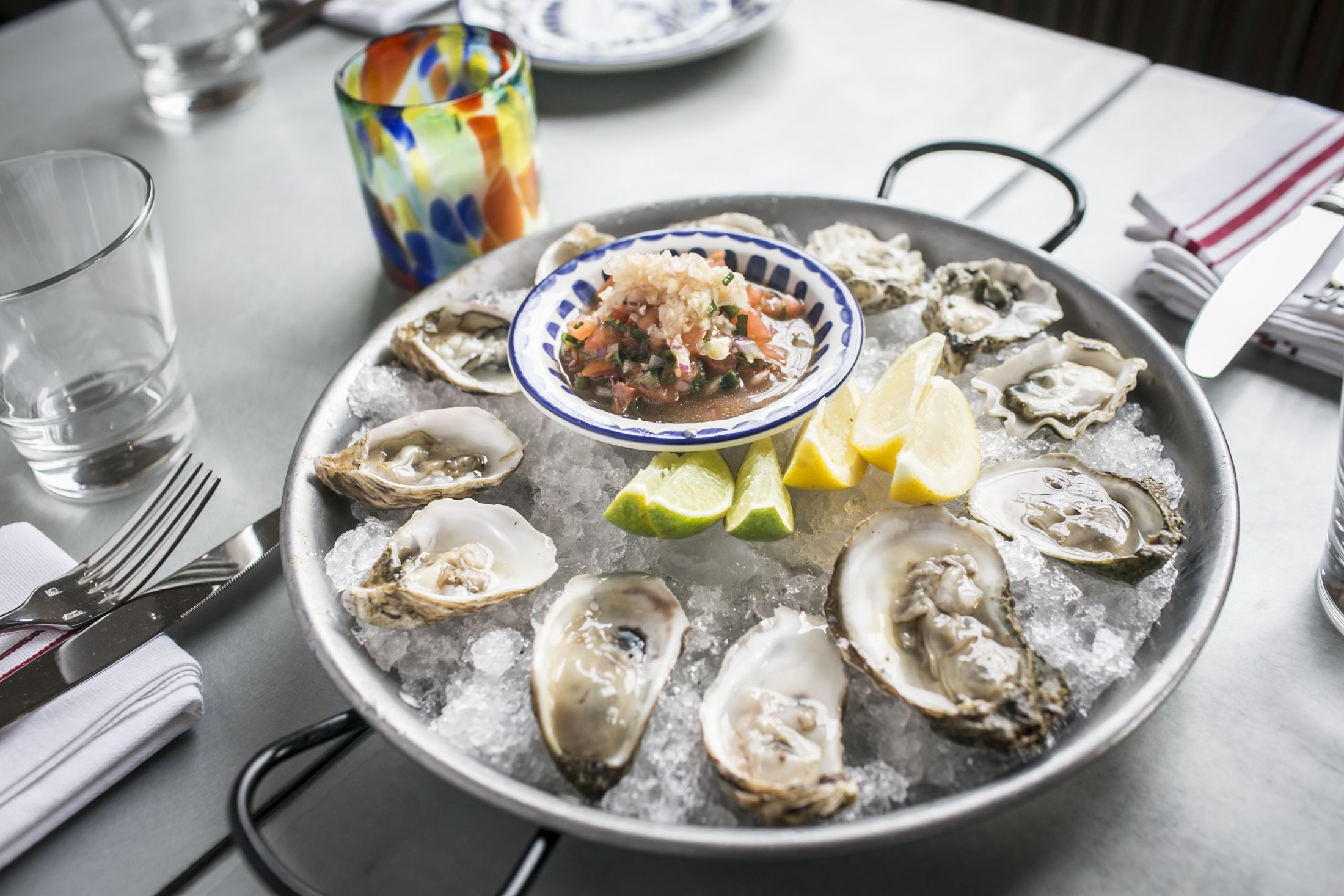 1 Chef S Choice Oysters Served On Tuesdays At Dia De Campo In Hermosa Beach