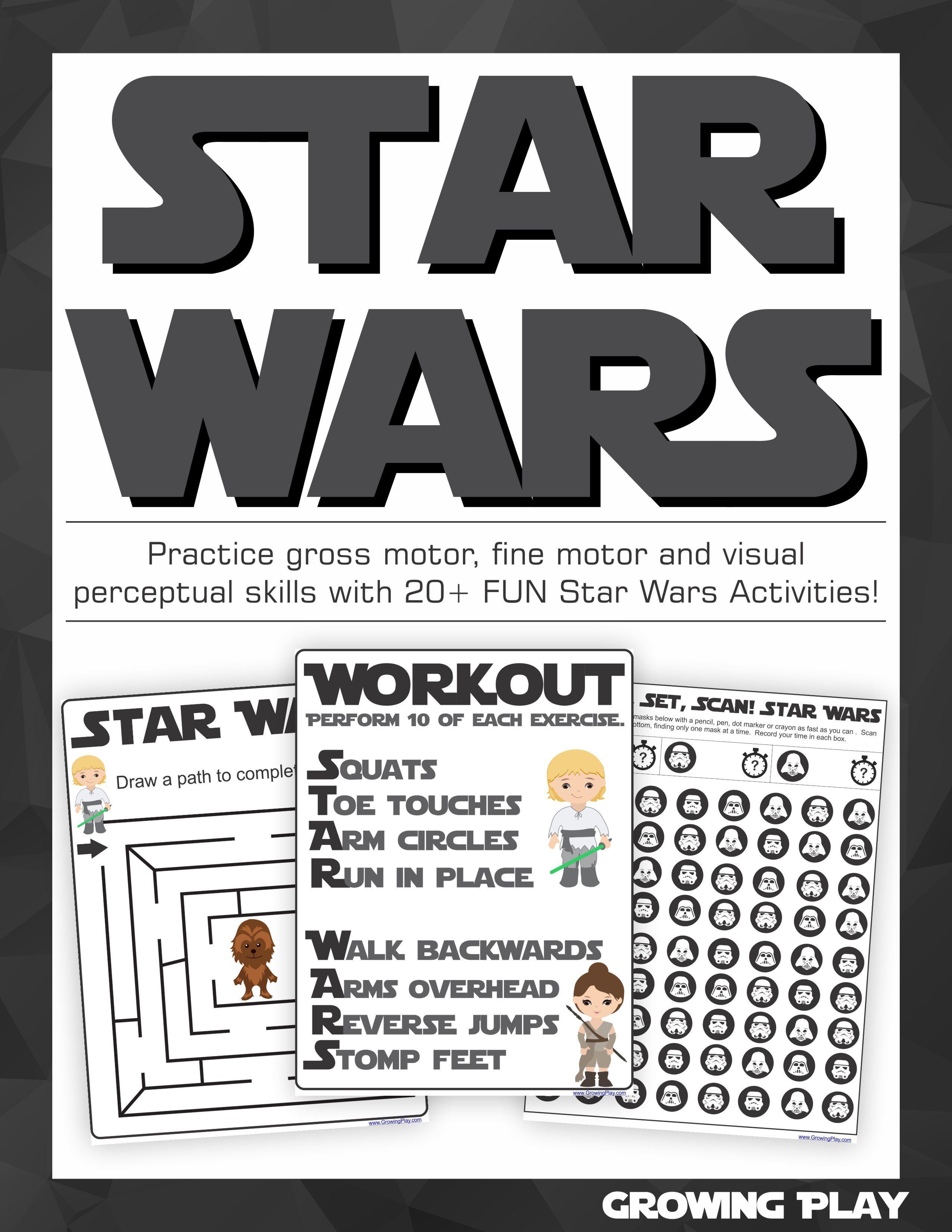 Star Wars Sensory Motor Packet