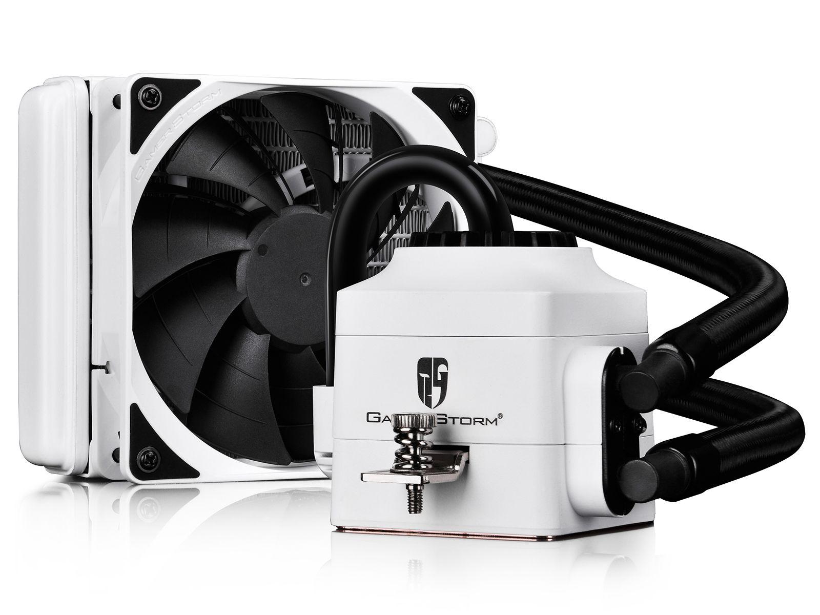 Deepcool Gamer Storm Captain 120ex White Cpu Liquid Efficient