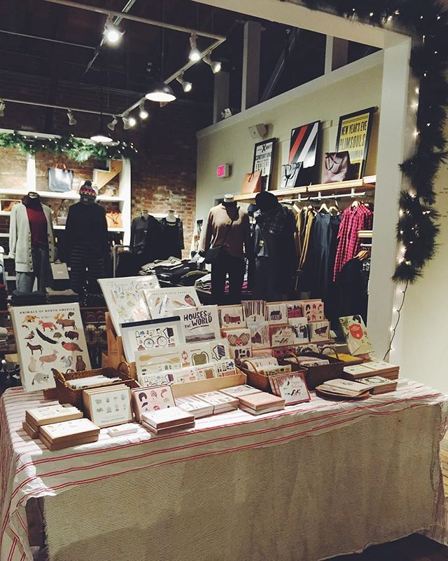 All set up at @madewell1937 in Pasadena from 6-8! Come shop and get 25% off your purchases as well as discounts from me! Get your holiday cards and gifts. See ya soon!