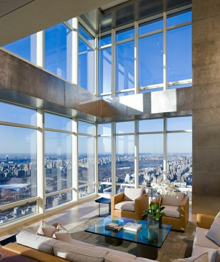 l appartement atypique qui va vous inspirer en 54 photos design moderne salons modernes et. Black Bedroom Furniture Sets. Home Design Ideas