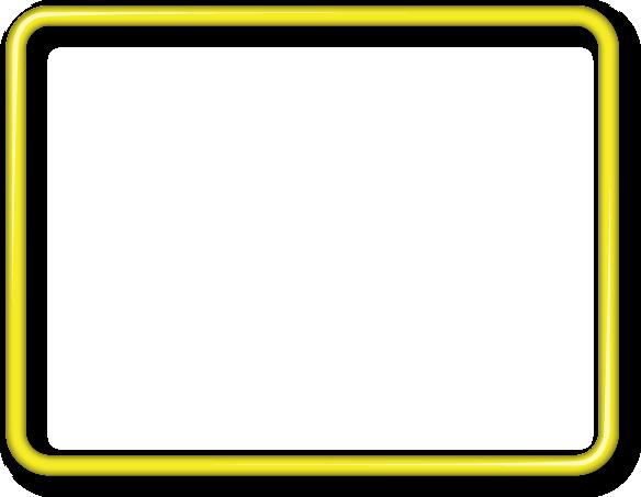 yellow frame png   yellow_frame.png   Frames   Pinterest ...