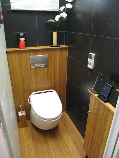 ToiletZone  La dcoration de vos toilettes style  Bambou