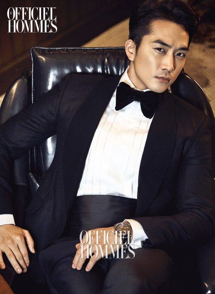 awesome Song Seung Hun for L'Officiel Hommes, December 2014