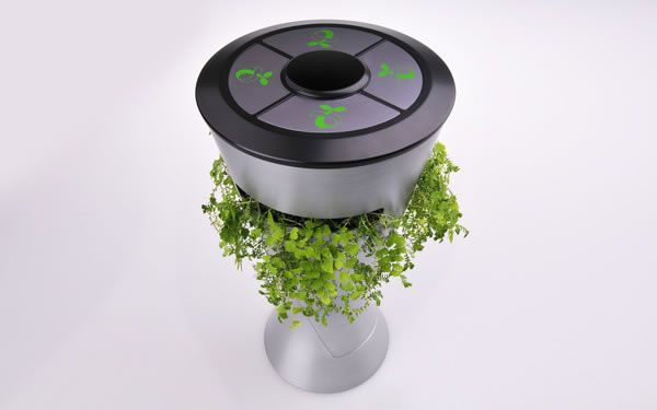 Envi, is a foresight urban dustbin, promoting composting from biodegradable waste.