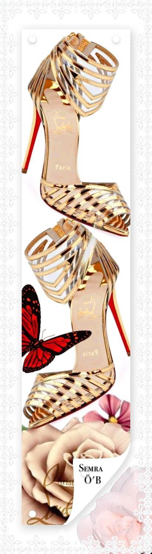 Christian Louboutin By.Semra.Ö.B   Brown fashion, Womens