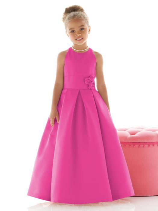 Flower Girl Dress FL4022 | Color fuchsia, Flower girl dresses and ...