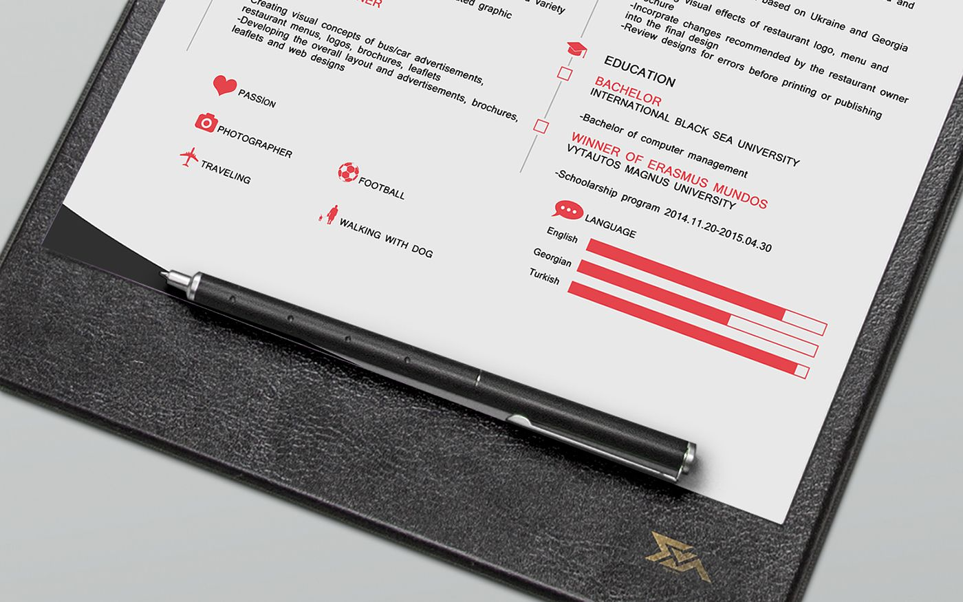 CV FREE Resume Template on Behance => More at