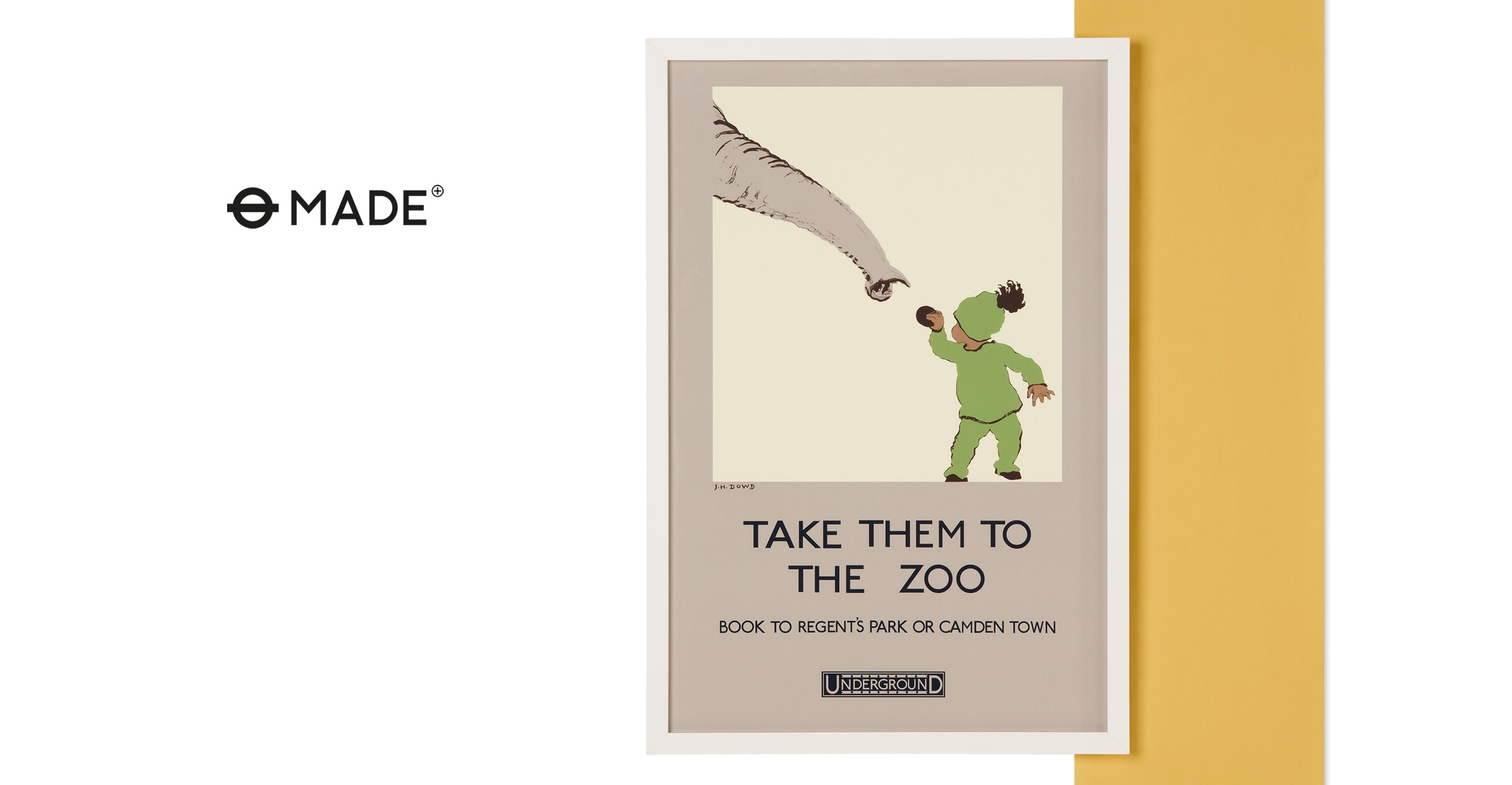 awesome --> gerahmte Kunst - Take them to the Zoo, gerahmter ...