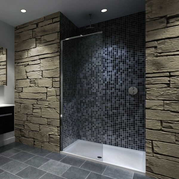 Walk In Shower Enclosure With Tray