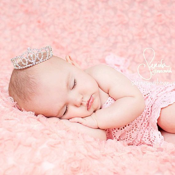 Bianca newborn crown photo prop