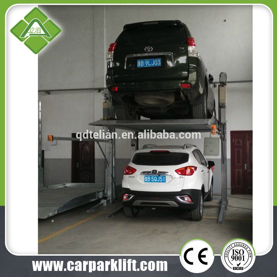 Domestic Garage Car Lift 2 Post Car Parking Lift For Domestic Garage Suv Parking Stacker