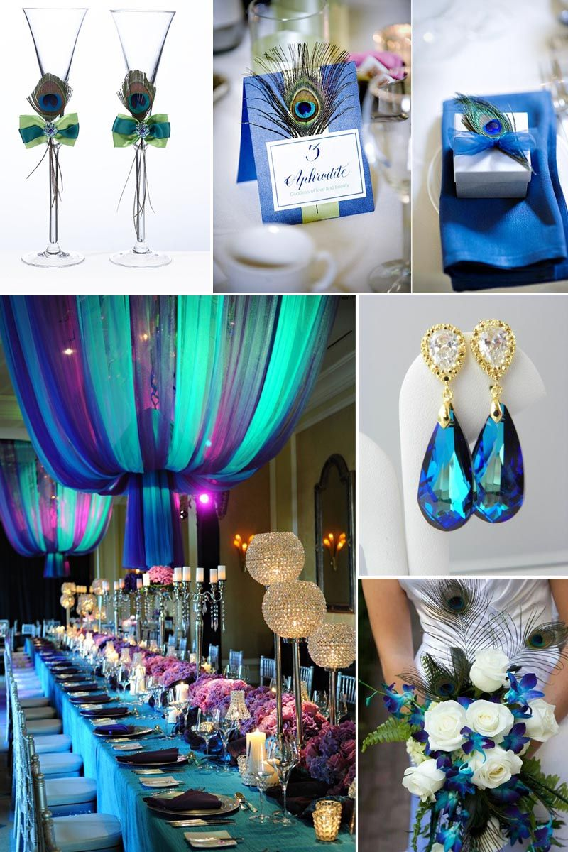 Peacock Wedding Theme