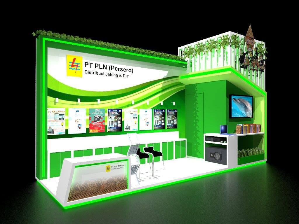desain booth pameran