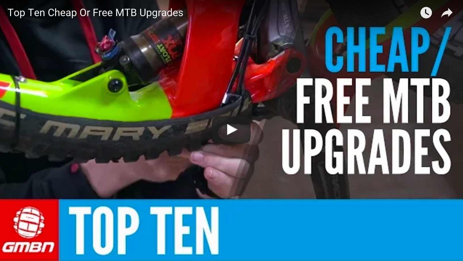 Top 10 Diy Mountain Bike Hacks Upgrades Bike Hacks Mountain