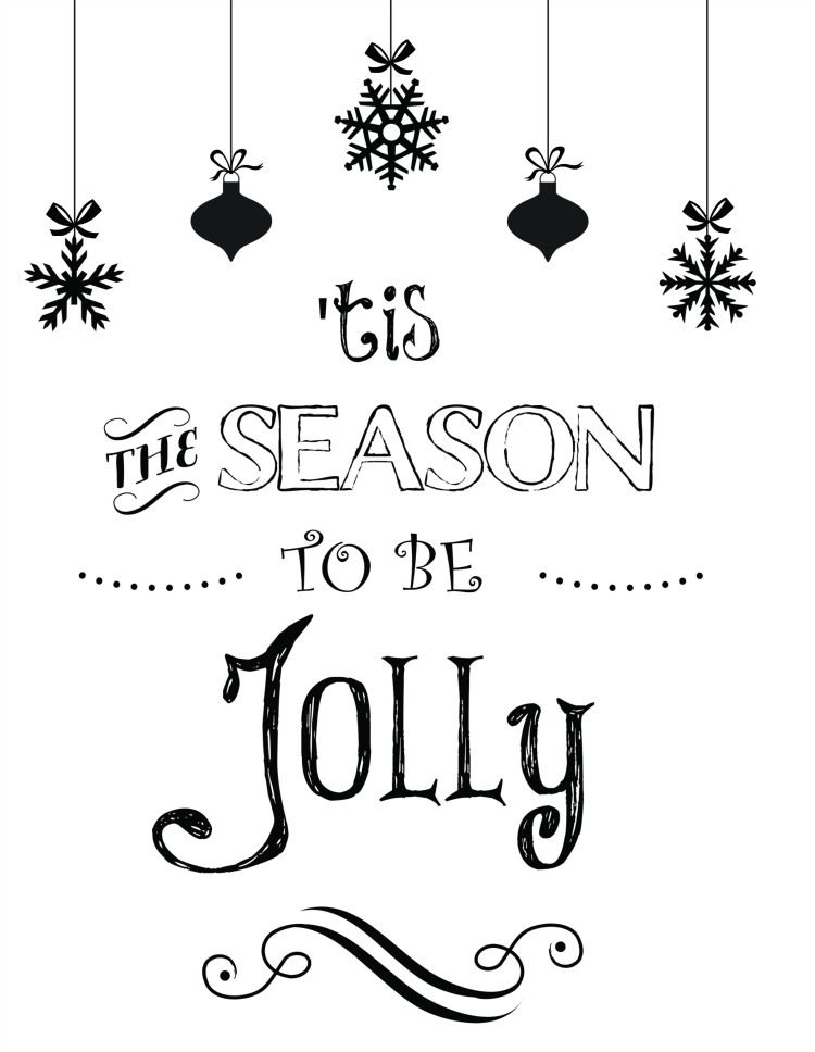 I'm loving these free downloadable Christmas designs to use as Xmas cards or to decorate our walls