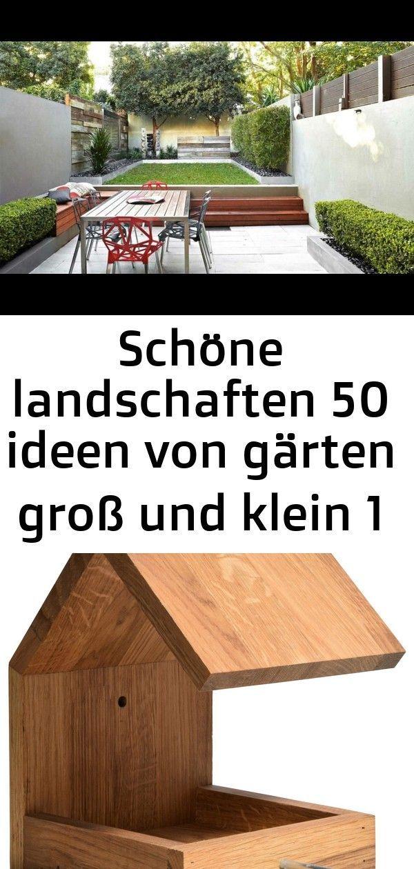 21 Ideen Für Große Und Kleine Gärten: Schöne Landschaften 50 Ideen Für Große Und Kleine Gärten 1