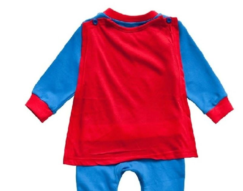 26cbea0cc6eb Promo Offer Baby Boy Romper Superman Long Sleeve with Smock ...