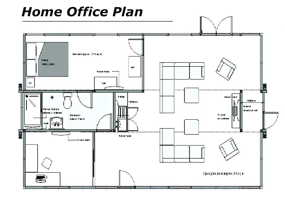 20 Amazing Small Office Layout Examples Amazing Examples Homeofficedesignlayoutinteriors Office Floor Plan Home Office Layouts House Layout Plans