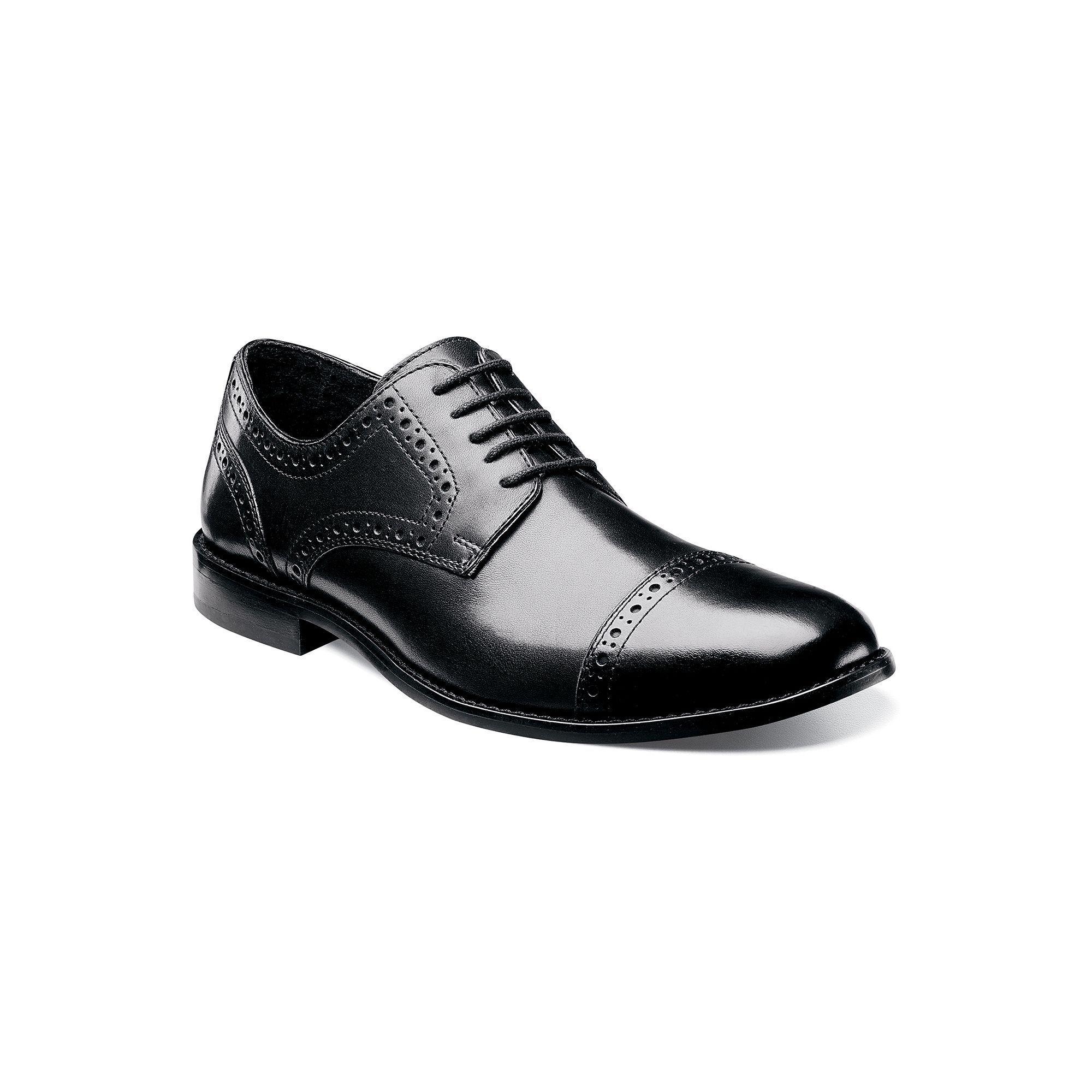Black · Nunn Bush Norcross Men's Brogue Dress Shoes ...