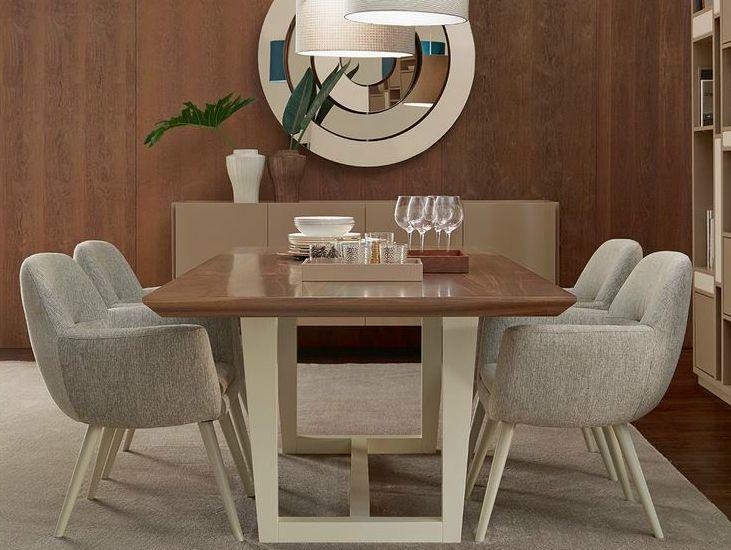 Tavolo da pranzo in legno rome Collezione ROME by VANGUARD ...