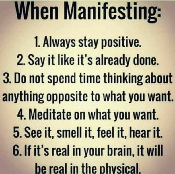 10 Positive Thoughts For The Day To Share