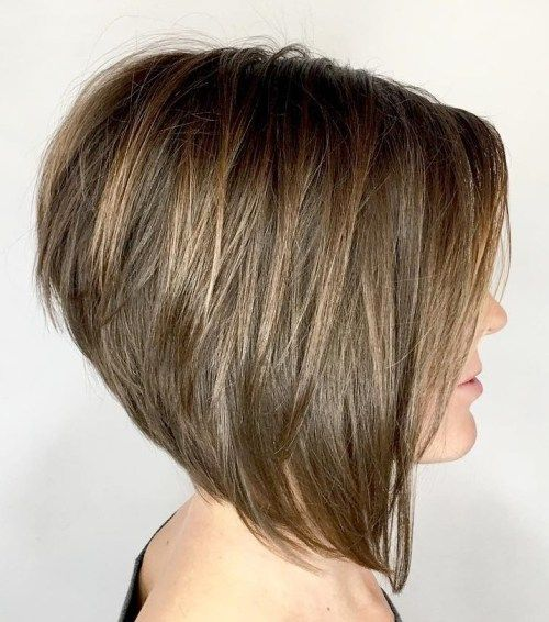 Stacked Bob Hairstyle New 50 New Short Bob Haircuts And Hairstyles For Women  Bobs Short