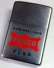 Frisco Railroad - Abelardo's Military Zippo Collection