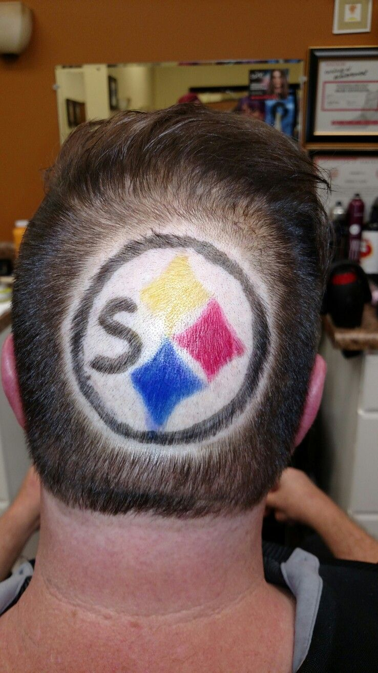 I put a pittsburgh steelers symbol in my bosses hair hair it i put a pittsburgh steelers symbol in my bosses hair winobraniefo Gallery
