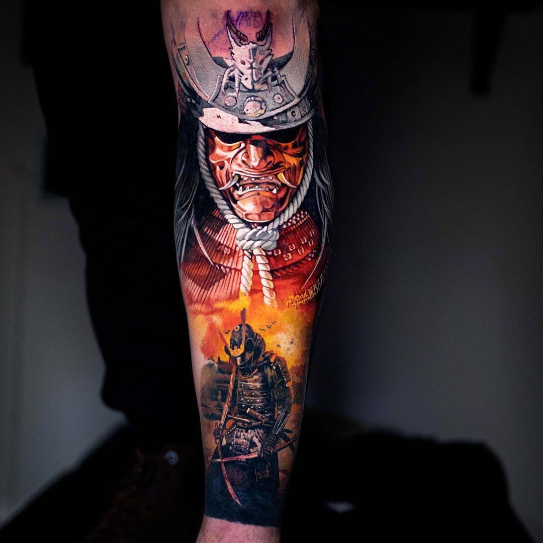 Samurai Artist Christos Zorbas Country Gr