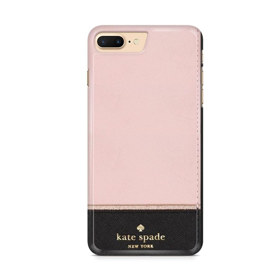 Kate Spade Scalop Pink Black Iphone 8 Plus Case Oniencase Iphone Kate Spade Cases Kate Spade Phone Case