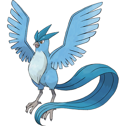 File 144articuno Png Bulbapedia The Community Driven Pokemon Encyclopedia Articuno Pokemon Pokemon Firered Bird Pokemon