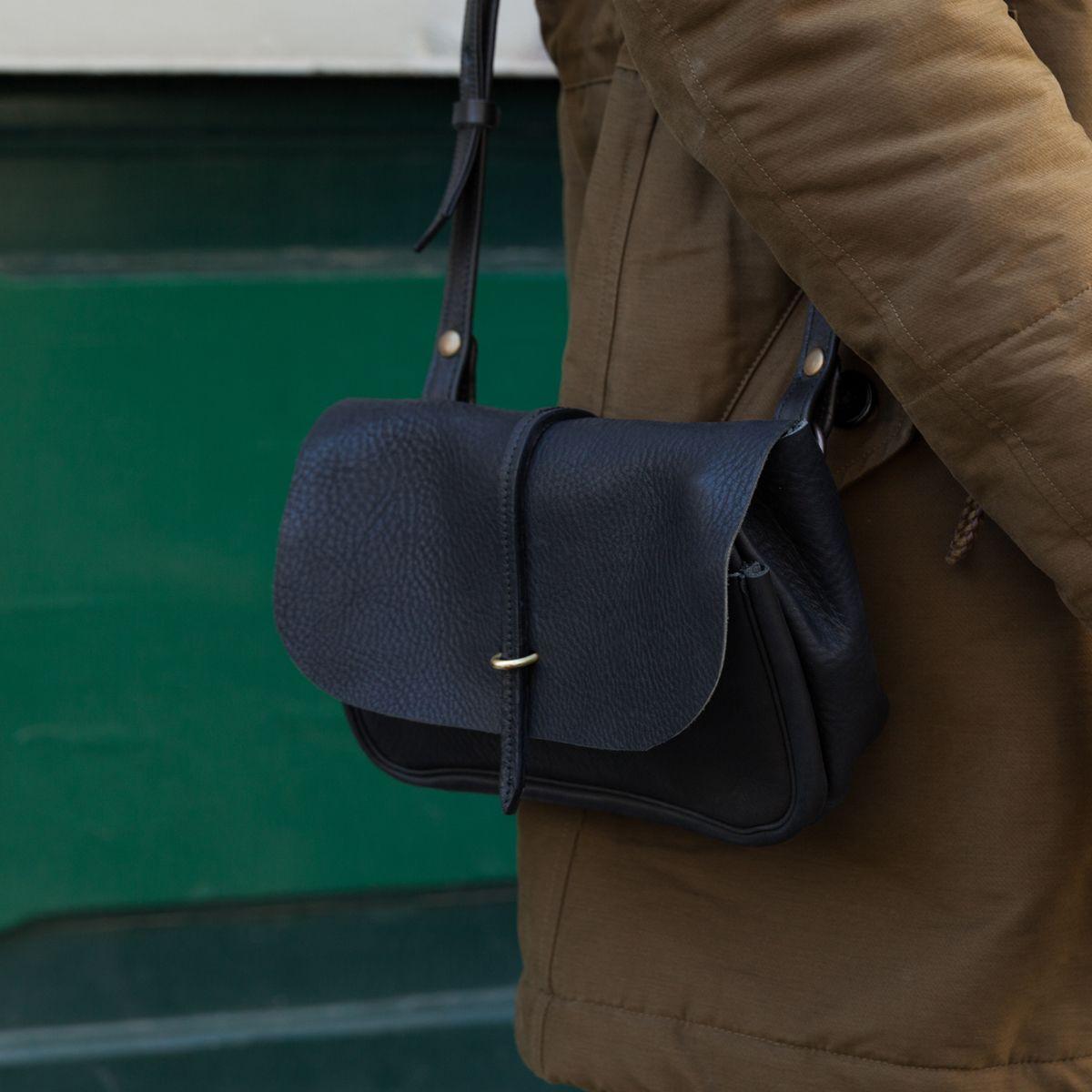 sac France Bleu Chauffe postman postier de bag Made Mini in Mini Pastel Pastel 44W07nB1