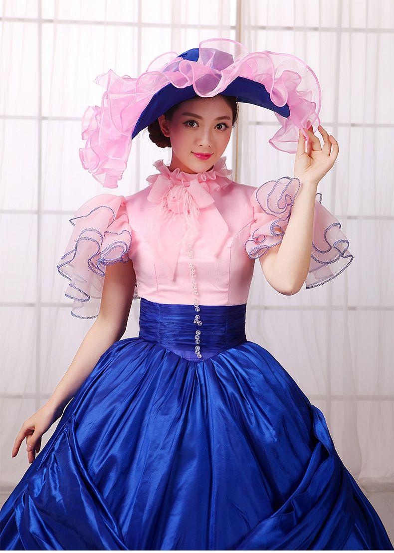 Vestido azul royal vestido azul royal para as mulheres victoria real ...