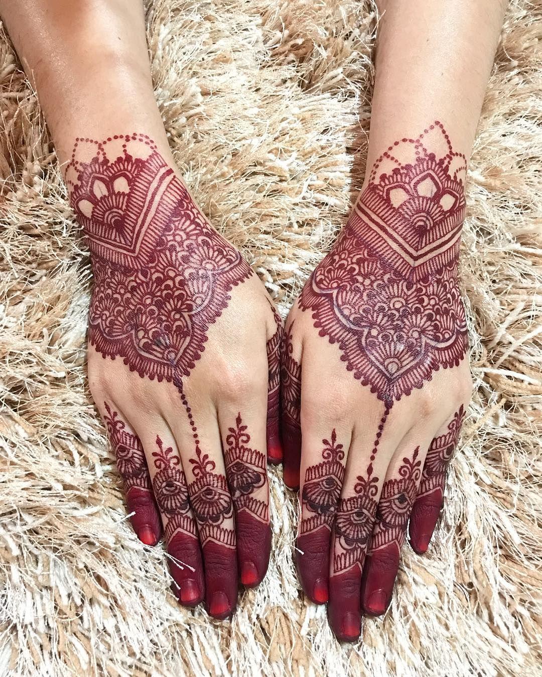 Henna Kaki Pengantin