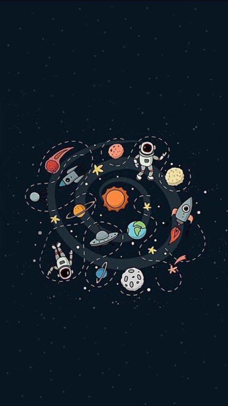 Pin Oleh Nabila Adlany Adlany Di Astronauta Espaco Wallpaper Iphone Ruang Angkasa Wallpaper Ponsel