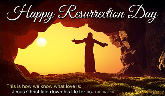 Happy Resurrection Day Easter Holidays Ecards Free Christian