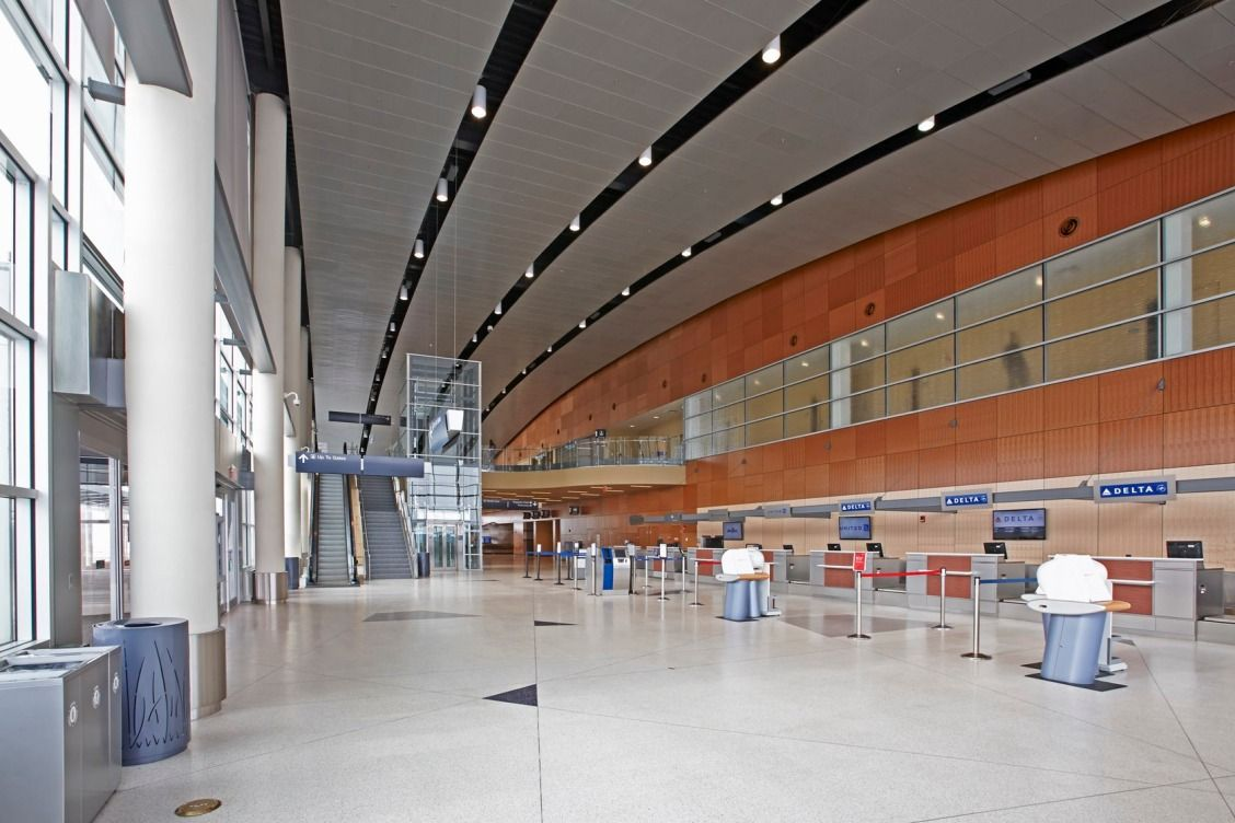The Replacement Terminal For Duluth International Airport Creates A Dynamic First Impression To The Port City Of International Airport Duluth Airport