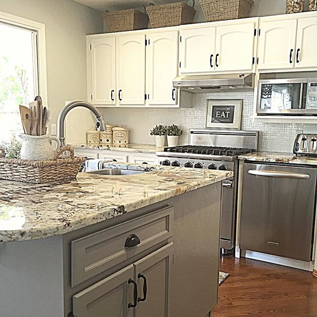 woven baskets above kitchen cabinets what to do with the space rh pinterest com what to do with the dead space above kitchen cabinets Design for Space above Kitchen Cupboards
