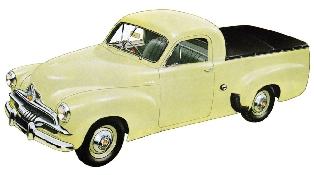 FJ Holden Ute (1953-1957) Maintenance of old vehicles: the material ...