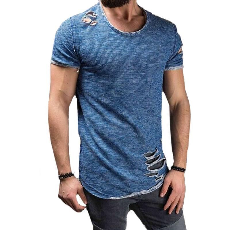Men/'s short sleeve o neck casual slim fit t shirt summer tops t shirts blouse