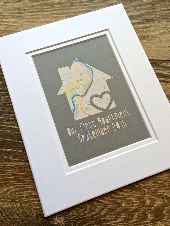 Our First Apartment Gift For College Student Place New House Housewarming Gifts Roommates