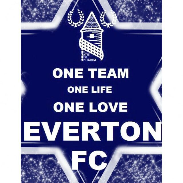 One team one love one life EVERTON FC | everton | Pinterest | Everton fc