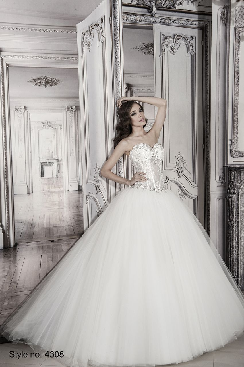 pnina_tornai #bridal dress style no. 4308 | Pnina Tornai 2014 Spring ...
