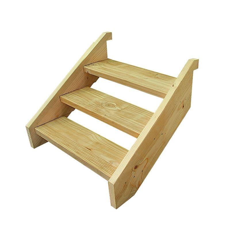 Best Wilmaplex Treated Pine Ezistep 3 Step Stringer Kit Step 640 x 480